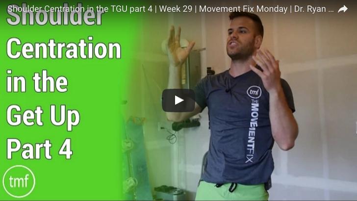 Shoulder Centration in the TGU Part 4