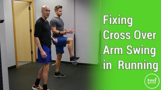 Fixing Cross Over Arm Swing in Running