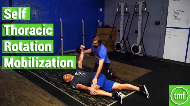 Self Thoracic Rotation Mobilization
