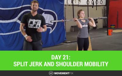 Day 21: Shoulder Mobility for Split Jerks