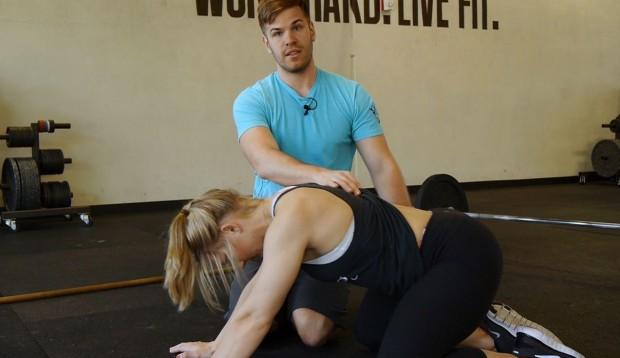 Hip Flexion with Lumbar Extension Fix