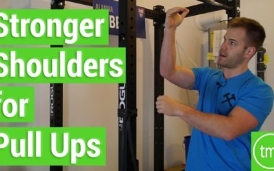 Stronger Shoulders for Pull Ups