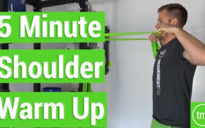 The BEST 5 Minute Shoulder Warm Up
