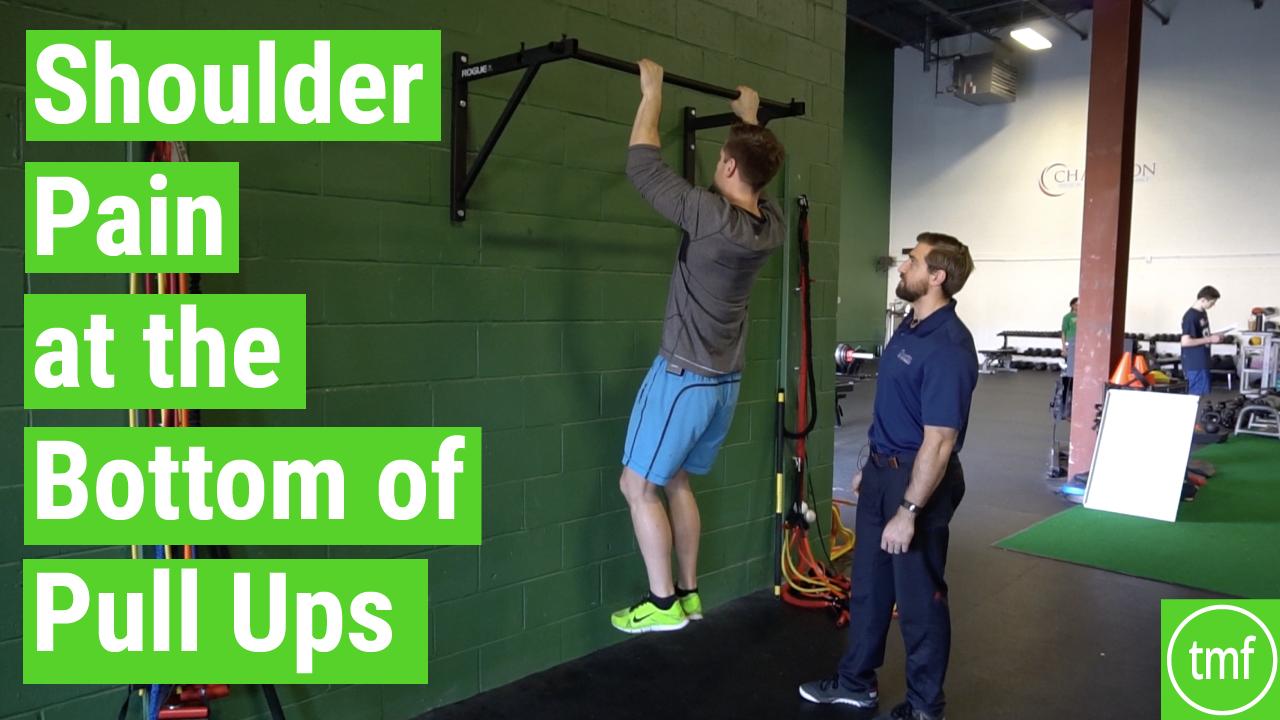 shoulder pain pull ups