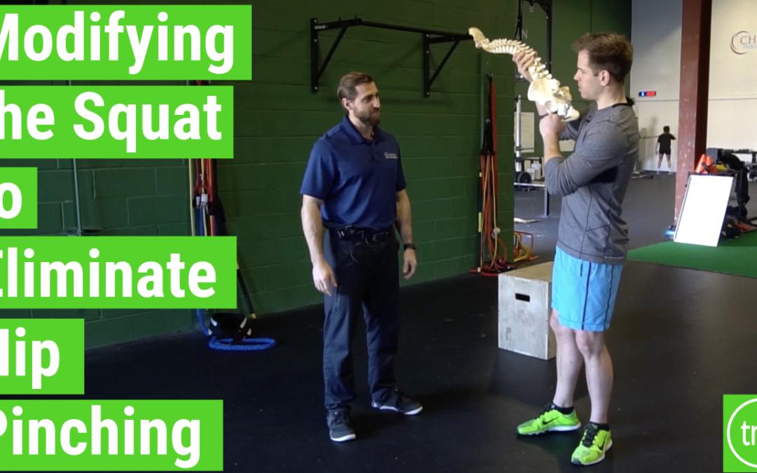 Modifying the Squat to Get Rid of Hip Pinching