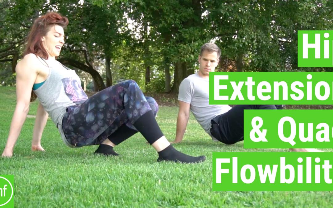 Hip Extension & Quad Stretch