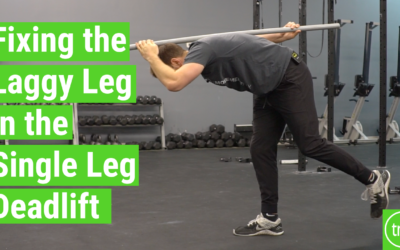 Fixing the Laggy Leg in Single Leg Deadlifts