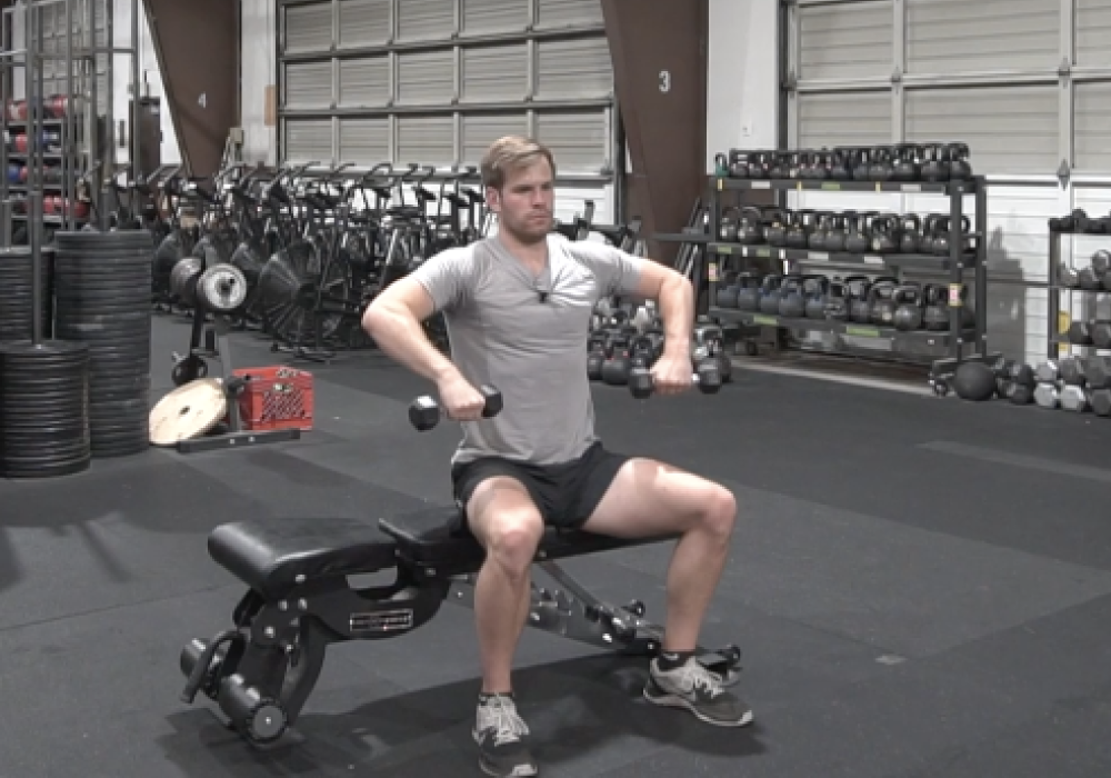 shoulder exercises seated