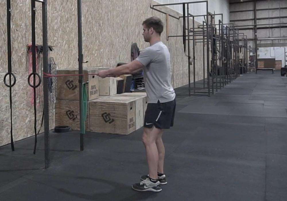 shoulder exercises standing 1