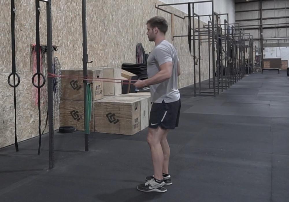 shoulder exercises standing 2