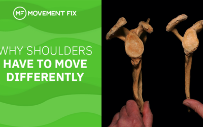 Why Shoulders HAVE to Move Differently
