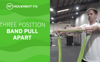 Three Position Band Pull Apart