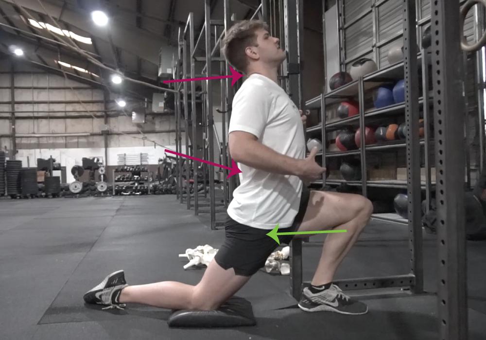 stretch hip flexors