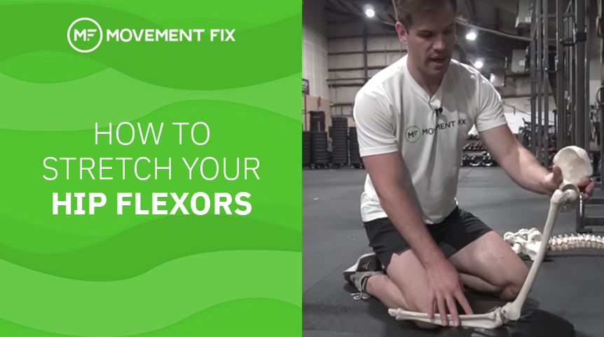 How to Stretch Your Hip Flexors